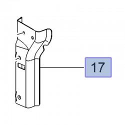 Wspornik deflektora powietrza, prawy 13486236 (Crossland X)