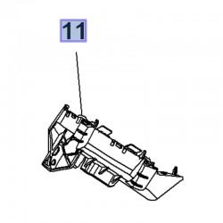 Ślizg przedniego zderzaka, lewy 13477180 (Crossland X)