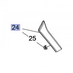 Listwa drzwi bagażnikowych, lewa 39031383 (Crossland X)