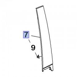 Listwa drzwi tylnych, lewa 39123012 (Crossland X)