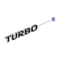 Napis tylny TURBO 39021077 (Crossland X)