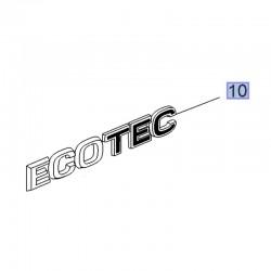Napis tylny ECOTEC 39087008 (Crossland X)