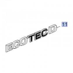 Napis tylny ECOTEC D 39093198 (Crossland X)