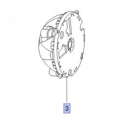 Silnik regulacji lusterka zewnętrznego lewego 39222215 (Crossland X)