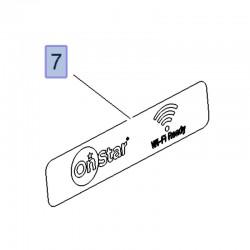 Etykieta, WIFI Hotspot 39023308 (Crossland X)