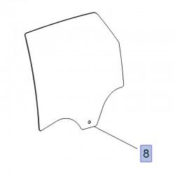 Szyba drzwi tylnych, lewa 13457750 (Crossland X)
