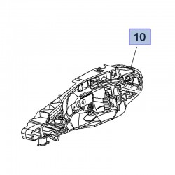 Wspornik klamki zewnętrznej 3641180 (Combo E, Crossland X)
