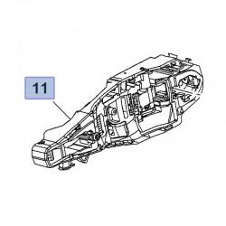 Wspornik klamki zewnętrznej, prawy 3638236 (Combo E, Crossland X)