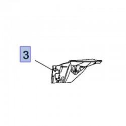 Wykończenie boczne podszybia, lewe 39028895 (Crossland X)