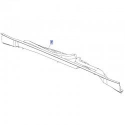 Uszczelnienie dolne podszybia, lewe 39021330 (Crossland X)