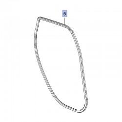 Uszczelka drzwi tylnych, bok nadwozia 13452301 (Crossland X)