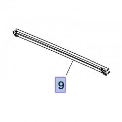 Listwa zgarniająca szyby tylnej, prawa 39126115 (Crossland X)
