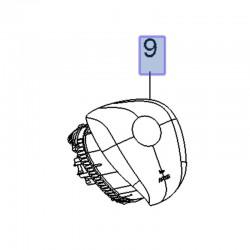 Poduszka powietrzna AIRBAG kierowcy 39124500 (Crossland X)