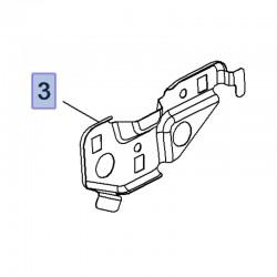 Uchwyt, cięgło drzwi tylnych, lewe 39078356 (Crossland X)