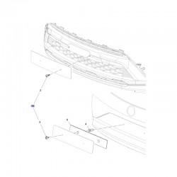 Komplet części montażowych mocowania tablicy rejestracyjnej 39081465 (Crossland X)