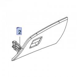 Pokrywa, klapka schowka konsoli przyrządów 39149648 (Crossland X)