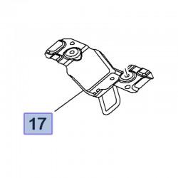 Rygiel, zaczep maski 13478976 (Crossland X)