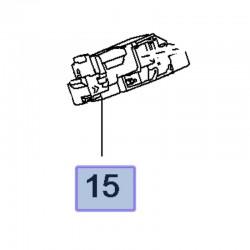 Zamek klapy bagażnika 9816195380 (Crossland X)