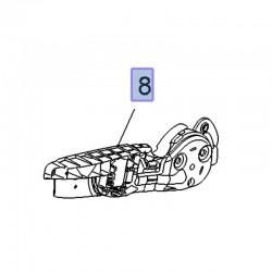 Dźwignia mechanizmu regulatora fotela przód 13462141 (Crossland X)