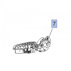 Dźwignia mechanizmu regulatora fotela przód 13463504 (Crossland X)