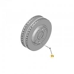 Śruba przedniej tarczy hamulcowej 440547 (Corsa F)