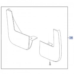 Chlapacze tylne 1629076080 (Combo E)