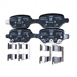 Klocki hamulcowe tylne 42539412 (Mokka X)