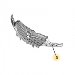 Kratka atrapy chłodnicy YP00023980 (Grandland X)