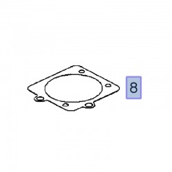 Uszczelka przepustnicy 90543950 (Astra G, H, Corsa C, Meriva A, Omega B, Signum, Tigra B, Vectra B, C)