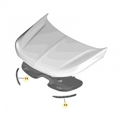Uszczelka maski silnika, prawa YP00153680 (Grandland X)