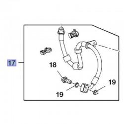 Przewód hamulcowy przedni, lewy 84199643 (Insignia B)