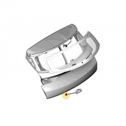 Element zamka klapy 1617410280 (Grandland X)