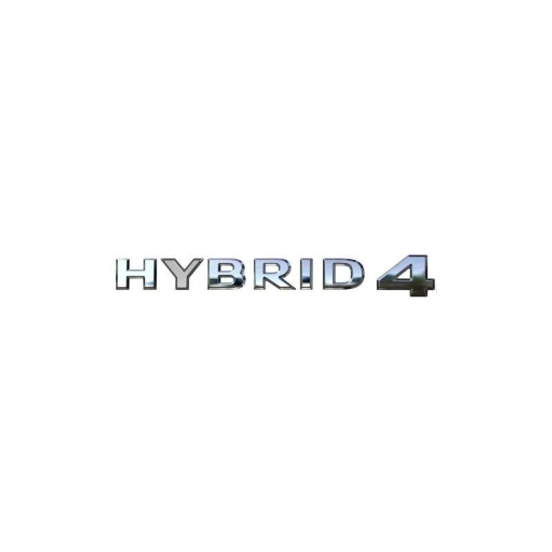 Emblemat tylny, napis HYBRID 4 chrom 98370981DX (Grandland X)