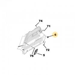 Zaślepka panelu bagażnika, prawa YP000372YX (Grandland X)