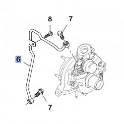 Przewód olejowy turbosprężarki 95517979 (Vivaro B)
