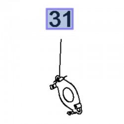 Uszczelka układu chłodzenia 55486416 (Astra K, Insignia B)