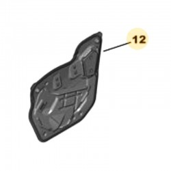 Płyta uszczelniająca drzwi przednich, lewa YP00044680 (Grandland X)