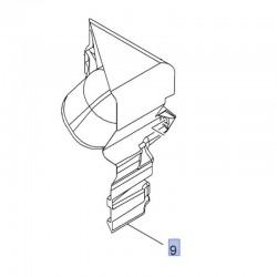 Rura, przewód dolotowy powietrza 93456932 (Vivaro B)