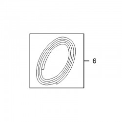 Przewód, wąż spryskiwacza przedniego 13305467 (Astra J, Cascada, Insignia, Meriva B)