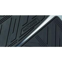 Dywaniki gumowe czarne MOKKA (przód + tył)