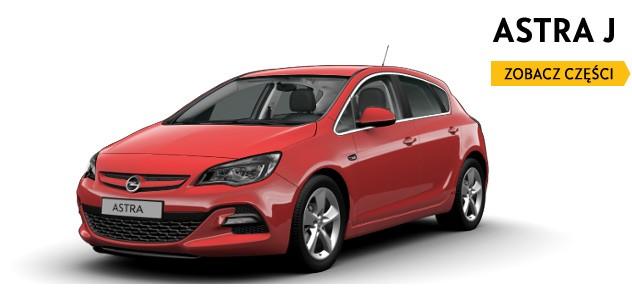 Części Opel Astra IV